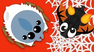 Download How to become a GIANT WINTER SPIDER in MOPE.IO Video