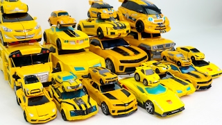 Download Yellow Color Transformers Carbot Tobot MiniForce Bumblebee 25 Vehicles Transformation Robot Car Toys Video