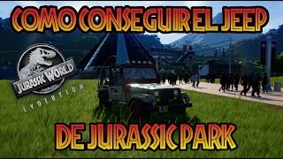Download COMO CONSEGUIR EL JEEP DE JURASSIC PARK DE 1993 EN JURASSIC WORLD EVOLUTION Video