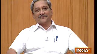 Download Defence Minister Manohar Parrikar in Aap Ki Adalat ( Full Episode ) Video