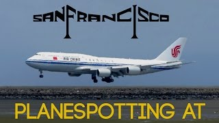 Download HEAVY ACTION! Planespotting at San Francisco Intl. Airport SFO: A380, 747, 777, 787 & more! Video