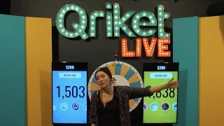 Download QriketLIVE Replay #542 - 5 Spins $200 Game Video