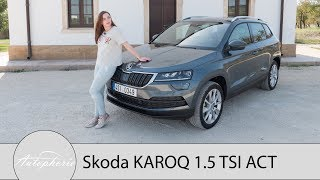 Download 2017 Skoda KAROQ 1.5 TSI DSG (150 PS) Fahrbericht / Mit VarioFlex und digitalem Cockpit - Autophorie Video