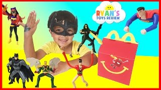 Download MCDONALD'S HAPPY MEAL TOY SURPRISE FULL SET 2016 Justice League and DC SuperHero Girls Video