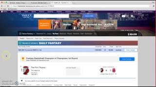 Download Yahoo Fantasy Basketball Walkthrough Video