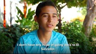 Download El Salvadorian Brothers Flee Gang Violence for Mexico Video