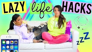 Download DIY Life Hacks EVERY Lazy Girl NEEDS to Know! Life Hacks for Lazy People! Niki and Gabi Video