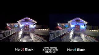 Download GoPro Hero6 vs Hero5 LOW LIGHT Test COMPARISON - GoPro Tip #600 Video