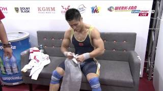 Download LU Xiaojun,World Record, Men 77kg ,2013 World Weightlifting Championships, Poland , HD Video