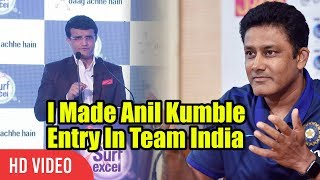 Download Anil Kumble Was Not Getting Selected In The Team | Stories Of Indian Cricket By Sourav Ganguly Video