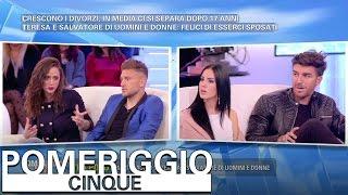 Download Pomeriggio 5 - Salvatore e Teresa contro Andrea e Giulia Video