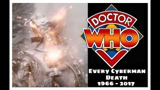 Download Doctor Who: Every Single Cyberman Destroyed: 1966 -2017 Video