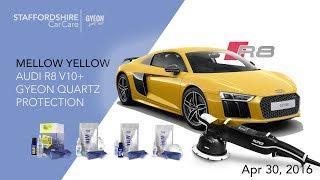 Download 2017 Audi R8 V10 Plus Detailing And GYEN Quartz Protection Video