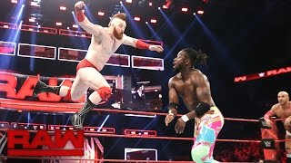 Download The New Day vs. Cesaro & Sheamus - Raw Tag Team Championship Match: Raw, Nov. 21, 2016 Video