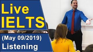 Download IELTS Live - Listening Section - Band 9 Practice Video