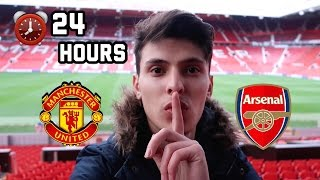 Download SLEEPING OVERNIGHT In Manchester United Football Stadium! Video