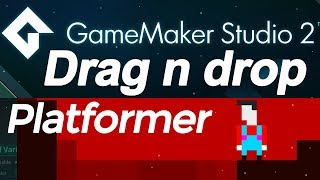 Download Game Maker Studio 2: Platformer drag and drop tutorial DnD - jumping physics Video