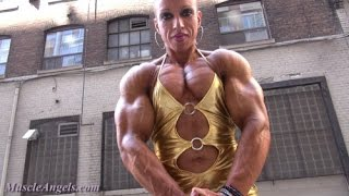 Download Workout Female Bodybuilding - Virginia Sanchez Video
