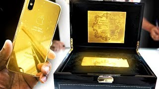 Download BUYING A 24K GOLD IPHONE X IN DUBAI Video