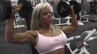 Download Melissa Deal - shoulder presses Video