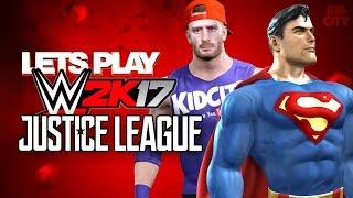 Download WWE 2k17 Justice League Super Heroes Battle Royal ft. Team KIDCITY! Video