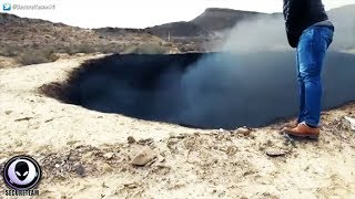 Download BURNING ″Impact″ Crater Discovered In Mexico.. Video