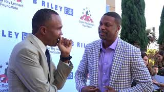 Download EPIC sugar ray leonard and chris tucker EsNews Boxing Video