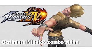 Download KoF XIV: Benimaru Nikaido combo video Video