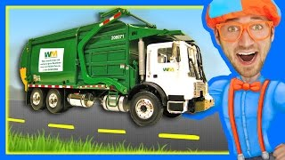 Download Garbage Trucks for Children with Blippi | Learn About Recycling Video