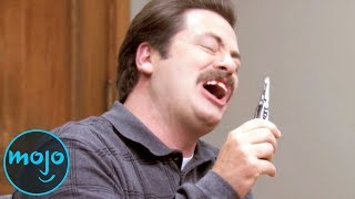 Download Top 10 Hilarious Ron Swanson Moments Video