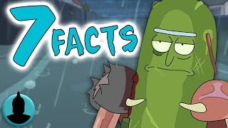 Download 7 Facts About Pickle Rick!! - Rick and Morty Season 3 Episode 3 ″Pickle Rick″ - (Tooned Up S4 E44) Video