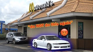 Download McDonald's Drive Thru In My RACECAR Video