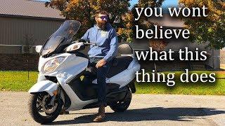 Download Suzuki Burgman 650 executive test Drive:srkcycles Video