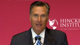 Download Mitt Romney: Trump 'A con man, a fake' [FULL SPEECH] Video