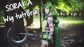 Download League of Legends Soraka cosplay - wig tutorial Video