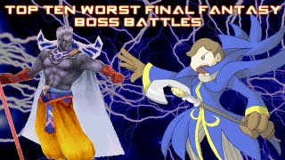 Download Top Ten Worst Final Fantasy Boss Battles (OUTDATED) Video