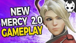 Download Overwatch - NEW MERCY 2.0 GAMEPLAY - New Ultimate and Abilities! Video