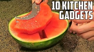 Download 10 AMAZING Kitchen Gadgets You Should Try! Video