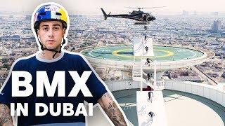 Download BMX Riding Dubai's Most Famous Landmarks | with Kriss Kyle Video