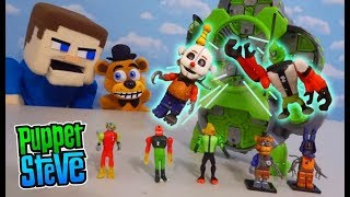Download FNAF PLUSH FREDDY Plays with the BEN 10 Alien CREATION CHAMBER! Awesome Unboxing! Video
