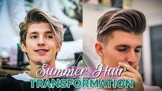 Download Men 2018 Summer Hair Transformation Haircut Tutorial Video