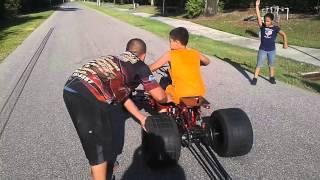 Download Kid drag yamaha blaster Video