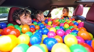 Download BALL PIT PRANK IN MY GIRLFRIEND'S CAR! Video