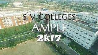 Download SV Colleges Flash Mob-2017 ||Ample 2k17 ||First ever Mob Captured using ″Drone″ & ″DJI Osmo″ Video