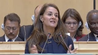 Download WHO: Melinda Gates speech - 67th World Health Assembly 20 May 2014 Video