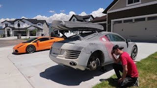 Download The AFTERMATH of my Audi R8 Desert MISTAKE Video