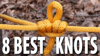 Download 8 KNOTS You Need to Know - How to tie knots that you will actually use. Video
