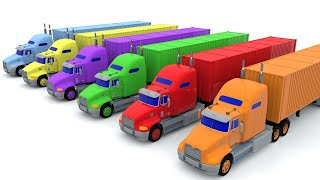 Download Colors for Children - Learn Colors - Trucks Colors for Toddlers - Colors with Trucks Video