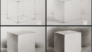 Download Cách vẽ khối Lập Phương [Hình Khối Cơ Bản] Video
