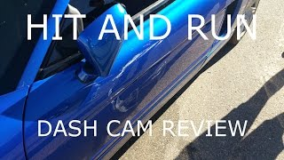 Download NSX hit and run! Caught the plate on my dash cam Video